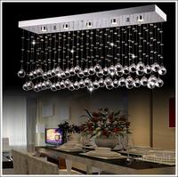 "L100cm / 39.4 ""high quality Rectangular crystal chandelier include LED Light Source"