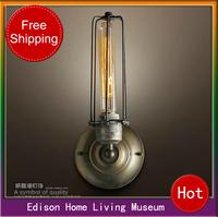 Free shipping Retro Single Wall Wall lamp vintage wall lamp classic nostalgic wall lamp lamps,Edison Vintage Iron Wall Lamps