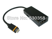 MYDP SlimPort to HDMI female adapter connector for Nexus 4 7(2013) E960  Supports Full HD and 3D 1080p