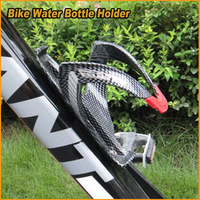 Free Shipping 1PCS  MATTOCK Carbon Fiber Portable Bike Bicycle  MTB Water Bottle Holder Water Bottle Rack Cage