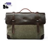 Free shopping Hot selling new 2014 men messenger bags High-grade canvas bags for men cross body bag Retro business briefcase