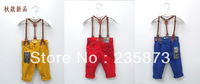 Free shipping 2013 new fashion explosion models Z home boys and girls overalls boys trousers casual trousers wholesale