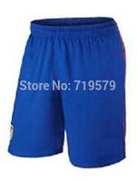 Freeshipping 2014 2015  season Atl Ma Football club soccer short Thai cotton shorts Jersey S-XL