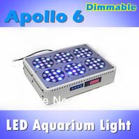 UP-GRADE Apollo 6 dimmable LED aquarium light remote control, white: blue =1:1, saltwater fish tank (customizable)