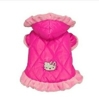 Winter cotton dog clothes pet clothes padded cotton jacket Freeshipping