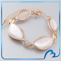 Charm Chamilia New Fashion Jewelry Opal Bracelet Cheap Jewelry  18K Gold Plated Bridal Bracelets Free Shipping
