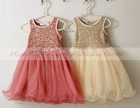 wholesale 2013 children's sequins party dress, girls spring  tutu dress,baby girl summer dress,kids wedding tulle dress 5pcs/lot