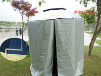 New arrival promotion parasol jw 2 meters double layer 90 full apron windproof rainproof anti-uv Umbrella