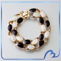 Hot Fashion Brand Designer Opal Bracelets & Bangles 18k Gold Plated Women Bracelet Fashion Cheap Jewelry New