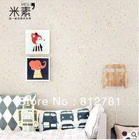 Meters  baby stickers wall child real wallpaper boy cartoon eco-friendly  boys bedroom wallpaper non-woven child room wallpaper