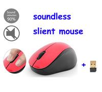 Ultra Silent mute Wireless Optical  soundless Mouse