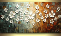 100% hand paint modern oil painting palette knife textured oil painting on canvas wall art canvas high quality home decor presen