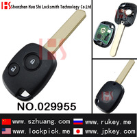 Hot seller,high quality auto 2 button remote key for Hond car,313.9MHz/ 029955