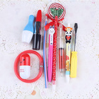 1202 1 pcs only 10 styles you can choose ballpoint pen Novelty Plastic Novelty pens 1set=4pcs HPB6(China (Mainland))