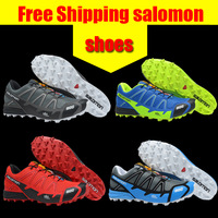 2013 New Arrived Salomon S-LAB FELLCROSS 2 Shoes Salomon Men's Running Shoes And Men Athletic Shoes Free Shipping Size 40 to 45