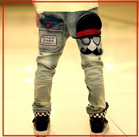 Free shipping new 2013 jeans for boy kids Fashion Stlye Jeans for Children dark blue color boys jeans pants B031