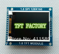 "1.77"" Serial SPI TFT Color LCD module Display 128x160 with SD Card socket   Compatible Nokia3310/5110 interface Free shipping"