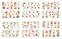 New design 100 sheets Chrismas nail art water transfer decal/stickers/print/accessories *wholsale*drop shipping * BOP series