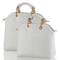 2013 Europe Fashion Brand Top Grade Alligator Pattern Women Handbags Leather Totes Shoulder Messenger Bag