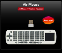 RC12 Wireless Keyboard Mouse Combos 2.4G wireless Air Mouse High sensitive touching pad For DH media players and android tv box