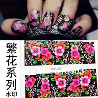 New design 100 sheets   nail art water transfer decal/stickers/print/accessories *wholsale*drop shipping * C series