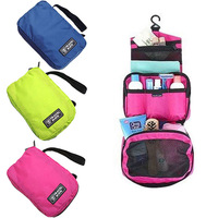 New 2014 Fashion Solid Nylon Double Zipper Foldable Men and Women Travel Accessories Organizer Bags