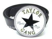 TAYLOR GANG belt  Buckle with Free belt , Free shipping worldwide