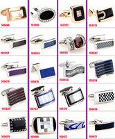 40pcs/lot free shipping fashion cuff links for mens Novelty Cufflink wedding Cufflinks trendy Cufflinks Can be mixed batch
