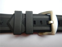 Watches Brand New watchband 24mm 26mm 28mm 30mm RUBBER REPLACEMENT WATCH BAND STRAP LOOP/ Holder / Locker / keeper