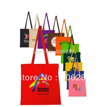 Custom canvas tote bag 33*39cm canvas shopping bag eco bag cotton small MOQ high quality