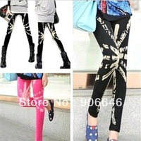 New Fashion knitting K-104 2014 spring leggings for women high quality cotton print tight pants wholesale retail FREE SHIPPING