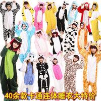 2014 Pijama Pyjamas Women Autumn And Winter Thickening Coral Fleece Cartoon One Piece Set Lounge Sleep Costume Adult Pokemon