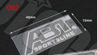 ABT Motor Sport VW public /Ad car Germany's modified brand logo LOGO high quality ultra-thin metallic sticker