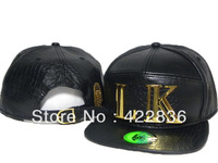 Last Kings leather Snapback hats gold LK logo Fashion Hip Hop mens Top quality baseball caps 3 styles hip-hop cap Free Shipping