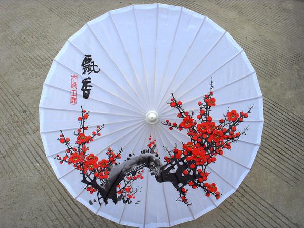 Сделать японский зонтик своими руками