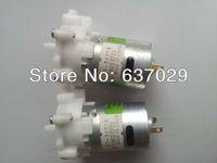 Free shipping 10pcs/Lot Self-priming pumps Micro plastic gear-type DC water pump Fish tank pump 6V for DIY toys