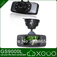 Original GS9000L 100% NOVATEK Chip 1080P 2.7' LCD 140 Degree Lens Car Vehicle Black Box Camera Recorder DVR G-Sensor GS9000