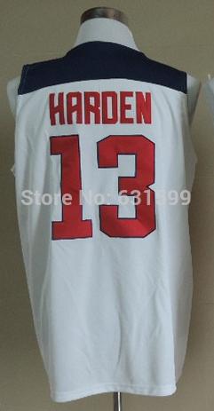 Free shipping 11th American Dream Team 2014 Basketball Jersey Shirt Uniforms James Harden Spain Basketball Game Match(China (Mainland))