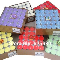 3.5 - 4 Hours Romantic2013  Bundle Underplating Candle Birthday For Daily Use 50Pcs (1 Boxes) wedding favor gift free shipping