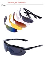 Freeshipping New Arrival Sunglasses Men Brand Designer 2013 Driving Outdoor Glasses Set (Can get 5 lens)
