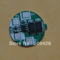 free shipping 1pc 3.5A 1S1P 1series PCB PCM for single 18650 Li-ion Li battery pack assembly DIY protection circuit board repair