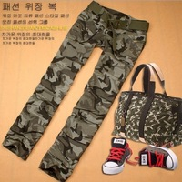 New Fashion High Quality Army Fatigue Pants For Women,Free Shipping