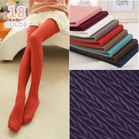 L010 Autumn 160d Multicolour Wheat Herringbone Striped Elastic Velvet Skinny Pantyhose Fashion Women's Tights Show Thin 18 C