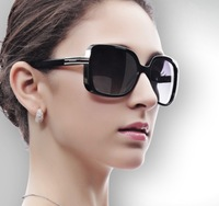 2014 Brand Design Vintage Women Sun Glasses Star Style Polarized Sunglasses Fashion Sunglasses With Box  9257