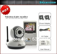 "Free shipping!!2.4""TFT Wireless Digital Baby Monitor IR Video Talk one Camera Night Vision video/Baby Monitor"