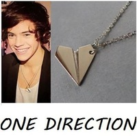 Sunshine jewelry store fashion good quality One direction airplane necklace x354 (min order $10 mixed order)