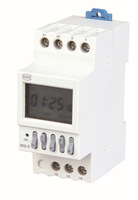 timer control second minute hour week day each month Programmable Electronic TIME SWITCH control seconds  fix Distribution Box