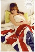 M word flag blanket thin blanket air conditioning blanket