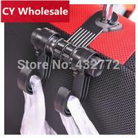 Free shipping Car multipurpose hanger/Hanger Hook Car Vehicle Auto Visor Accessories bag Organizer Holder