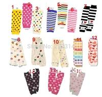 Leg warmers 50 pairs per lot mix designs Baby Toddler Boys Girls long  Socks 40 Designs 1198